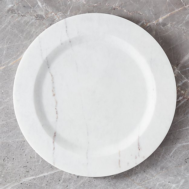 Marble Charger Plate - Image 1 of 3