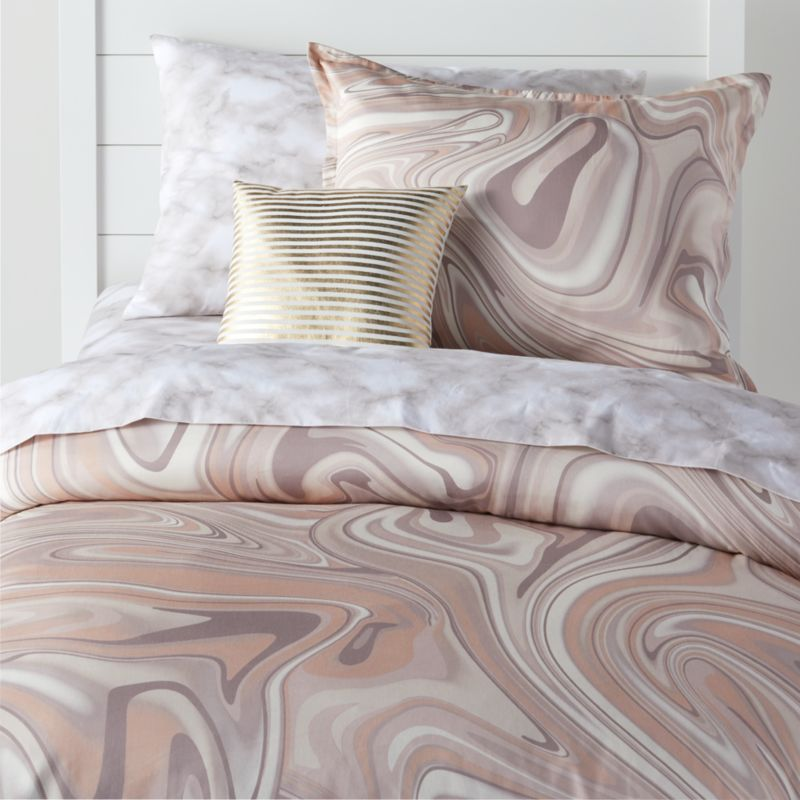 Organic Marble Bedding Crate And Barrel, Marble Queen Bedding