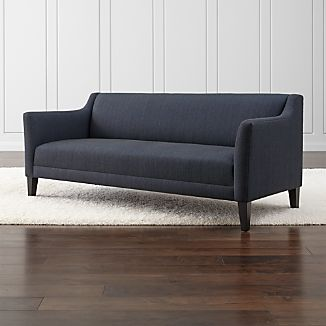 Tight Back Sofas Crate and Barrel