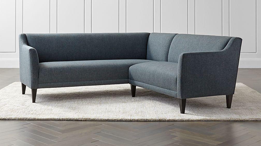 Margot II 2-Piece Left Arm Corner Sofa Sectional + Reviews | Crate ...