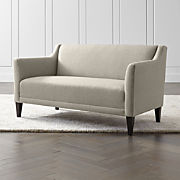 Enjoyable Tight Back Sofas Crate And Barrel Creativecarmelina Interior Chair Design Creativecarmelinacom
