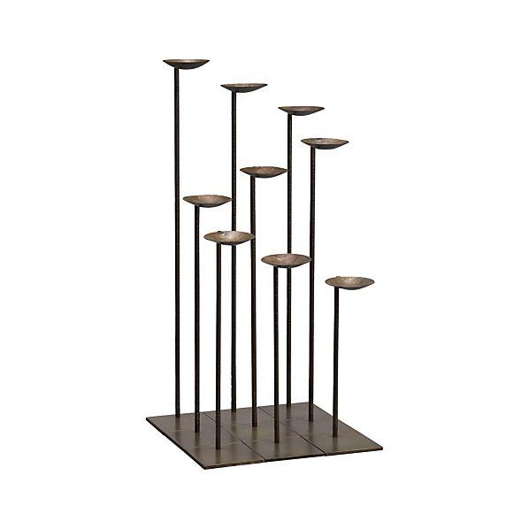 Set of 9 Mariel Floor Pillar Holders
