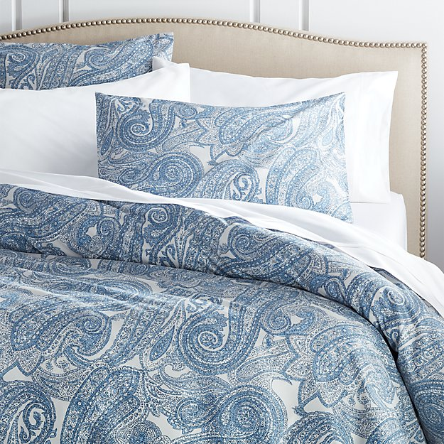 Mariella Blue King Duvet Cover