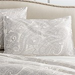 Mariella Standard Cream-Grey Pillow Sham