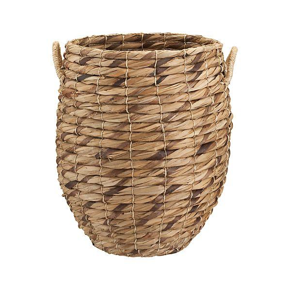 Marikit Tall Basket with Rope Handles