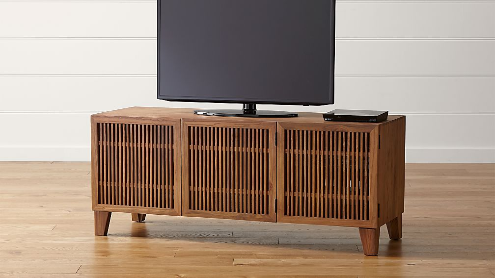 Marin Natural 58 Quot Media Console Reviews Crate And Barrel