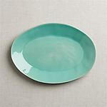 Marin Aqua Oval Platter