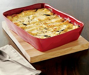 "Marin Red 13.5""x10"" Baking Dish"