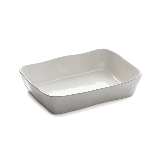 "Marin White 13.5""x10""Baking Dish"
