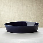 Marin Dark Blue Oval 10 x13.75  Baking Dish