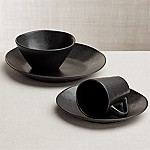 Marin 4-Piece Matte Black Place Setting