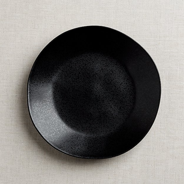 Marin Matte Black Dinner Plate - Image 1 of 11