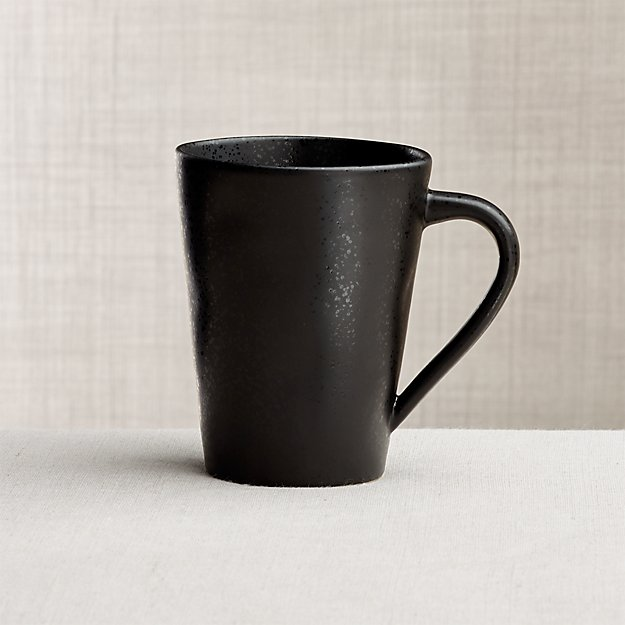 Marin Matte Black Mug Crate And Barrel