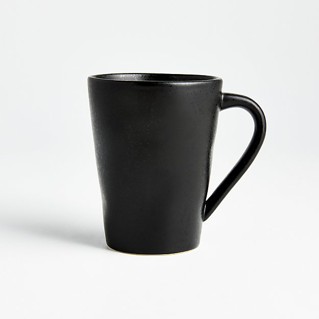 Marin Matte Black Mug - Image 1 of 7