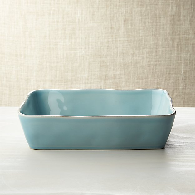 "Marin Blue 12""x8.5"" Baking Dish"