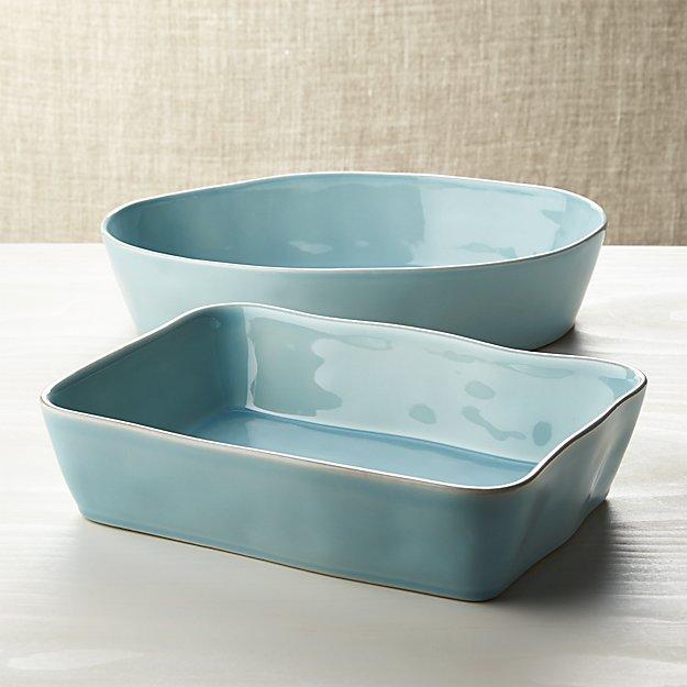 Marin Blue Baking Dishes