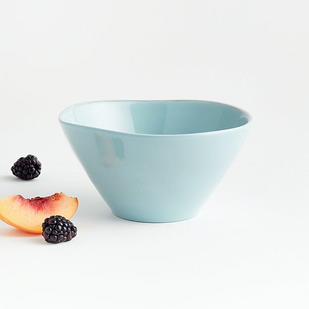 Marin Blue Melamine Bowl - Image 1 of 3