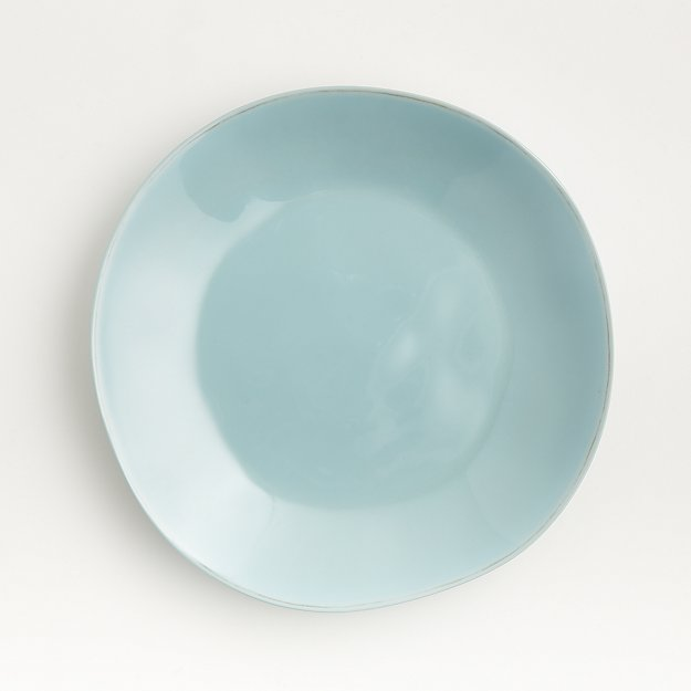 Marin Blue Melamine Dinner Plate - Image 1 of 4