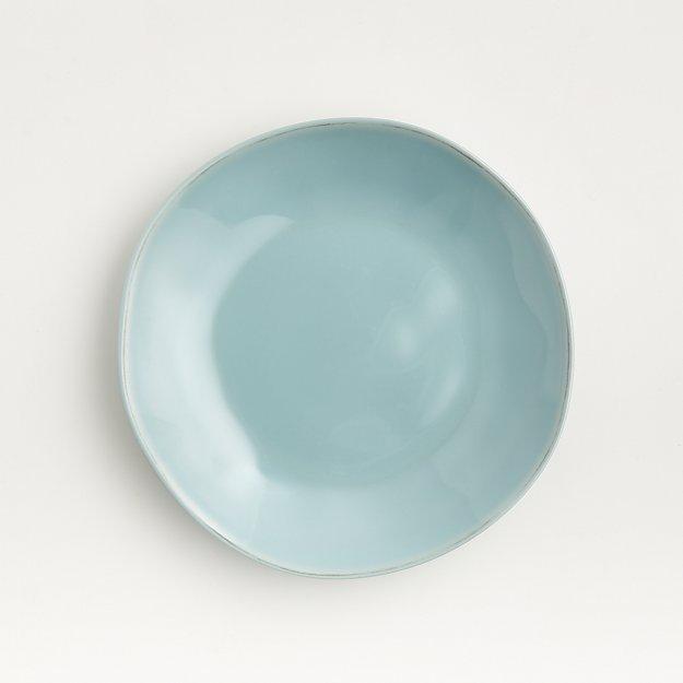 Marin Blue Melamine Salad Plate - Image 1 of 4