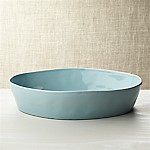 Marin Blue Oval 10 x13.75  Baking Dish