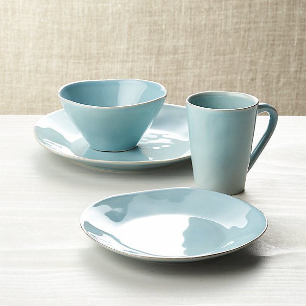 Marin Blue 4-Piece Place Setting