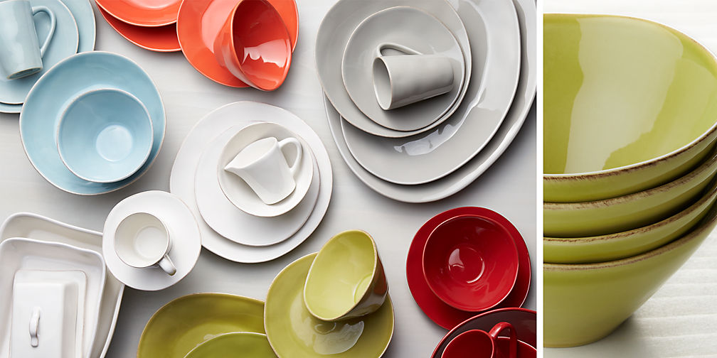 affordable dinnerware sets crate and barrel with modern dinnerware sets. & Modern Dinnerware Sets. Fine China Dinner Plates And Dish Sets With ...