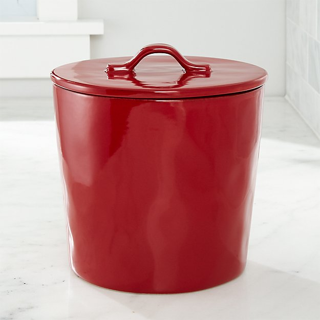 Marin Canister Large Red