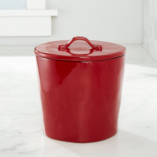 Marin Canister Medium Red