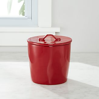 Marin Canister Small Red