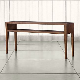 Marin Shiitake Solid Wood Console Table