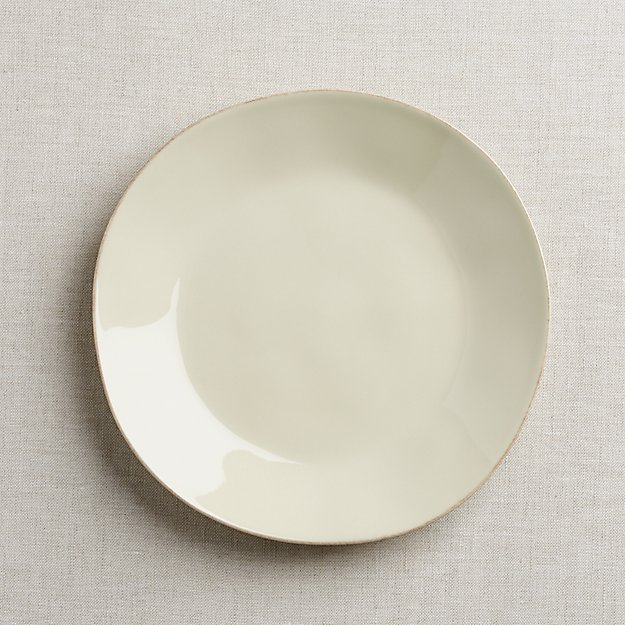 Marin Cream Dinner Plate - Image 1 of 4