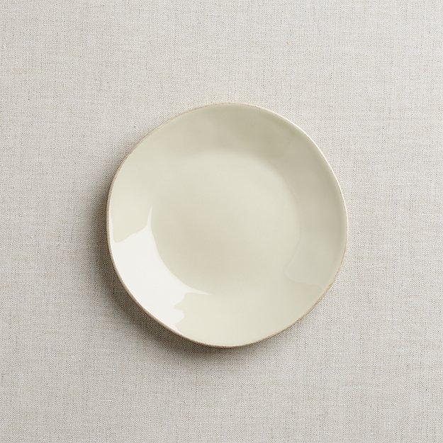 Marin Cream Salad Plate - Image 1 of 4
