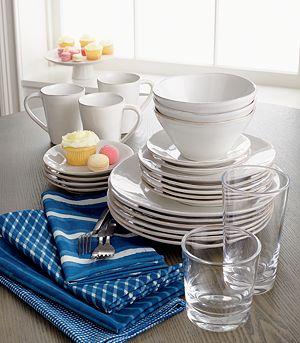 Marin White Dinner Plate