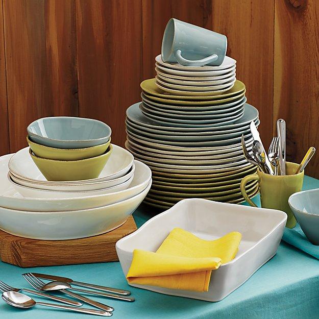 Marin Rectangular White Baking Dishes Crate And Barrel