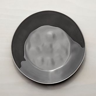 Marin Dark Grey Dinner Plate & Dinner Plates: Square Oval Rectangular \u0026 Round | Crate and Barrel