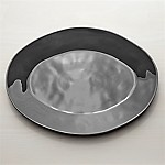 Marin Dark Grey 20  Oval Platter