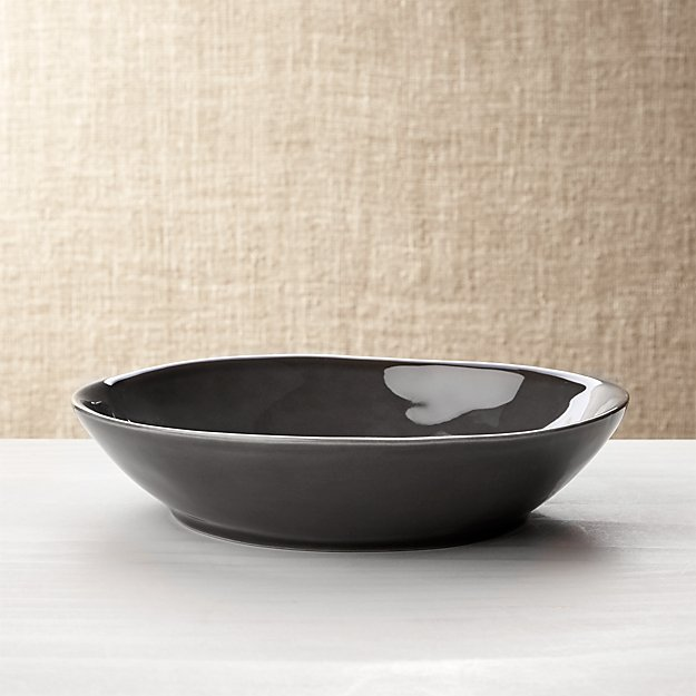 Marin Dark Grey Pasta/Soup Bowl
