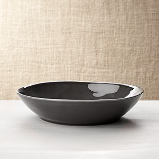 Marin Dark Grey Pasta/Soup Bowl