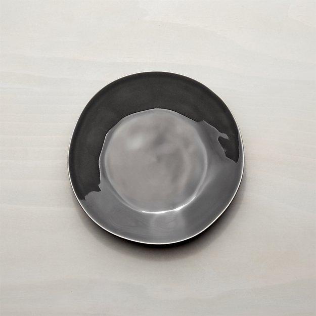 Marin Dark Grey Salad Plate