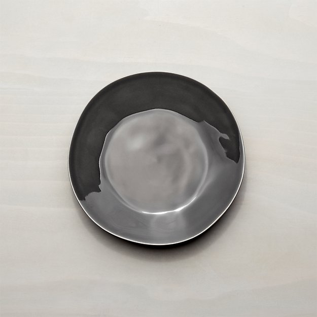 Marin Dark Grey Salad Plate - Image 1 of 7