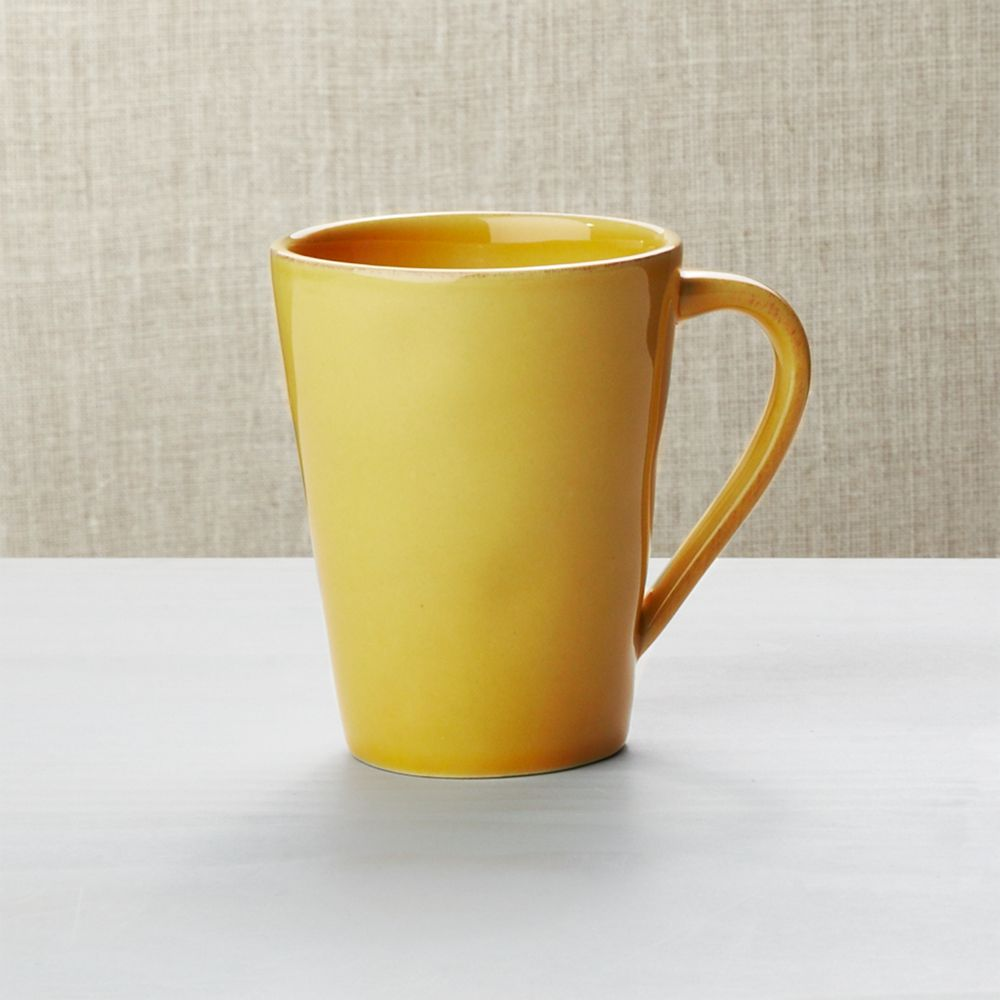 Marin Gold Mug - Crate and Barrel