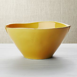 Marin Gold Serving Bowl