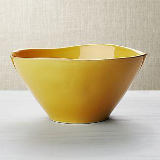 Marin Gold Serving Bowl