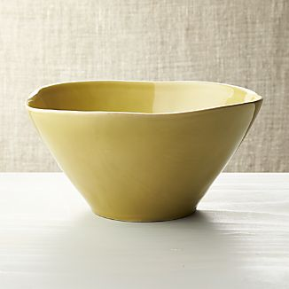 Marin Green Serving Bowl