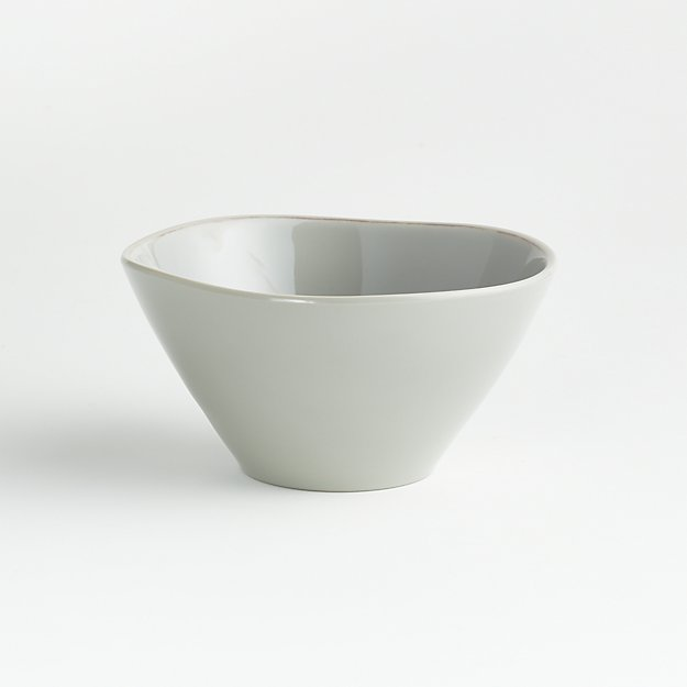 Marin Grey Melamine Bowl - Image 1 of 3