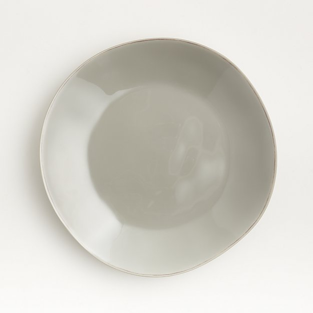 Marin Grey Melamine Dinner Plate - Image 1 of 4