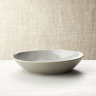 Marin Grey Pasta-Low Bowl