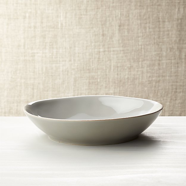 Marin Grey Low Bowl - Image 1 of 3