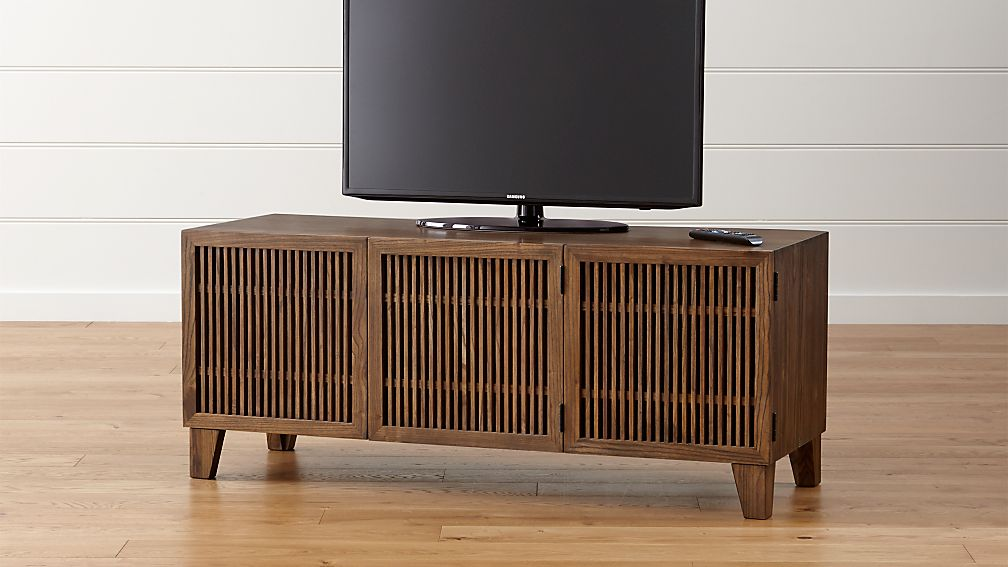 "Marin Shiitake 58"" Media Console - Image 1 of 6"