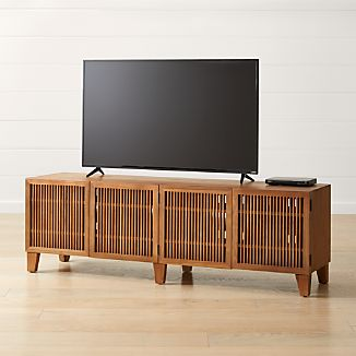solid wood tv stands crate and barrel. Black Bedroom Furniture Sets. Home Design Ideas